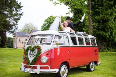 Bulli T1 Hochzeitsfahrten / Brautauto Oldtimer