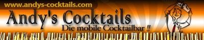Andy´s mobile Cocktailbar und Barkeepervermietung